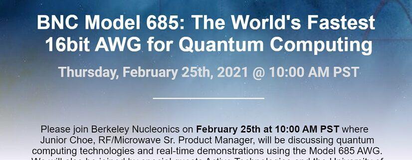 quantum computer AWG